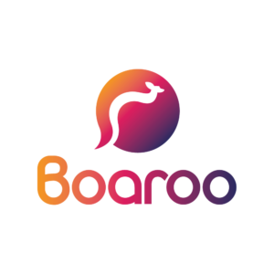 Image of the brand logo for the fitness company called Boaroo
