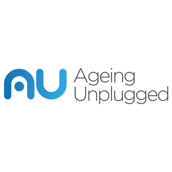 Uk brand logo design for Ageing Unplugged