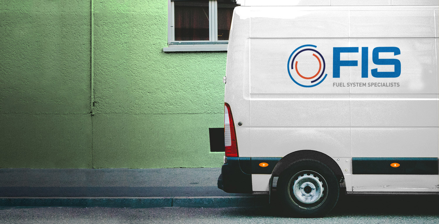 FIS van logo design uk