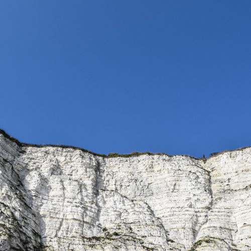 White cliffs of dover back britain